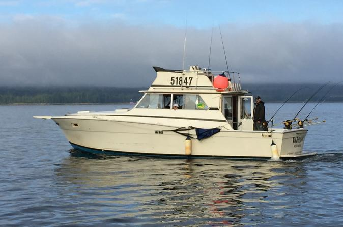 Deluxe 4 Hour Salmon Fishing Charter
