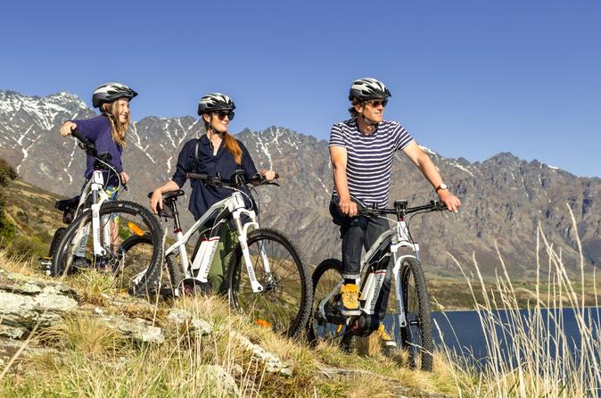Lakeside Electric Mountain Bike Package including Water Taxi transfers