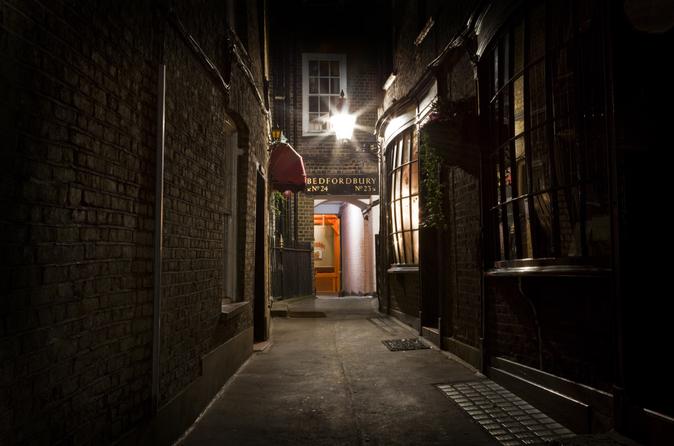Excursão Jack, o estripador e passeio do Fantasma de Londres
