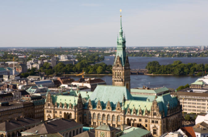 Hamburg Shore Excursion: Sightseeing Tour Including Treppenviertel and the Elbe River