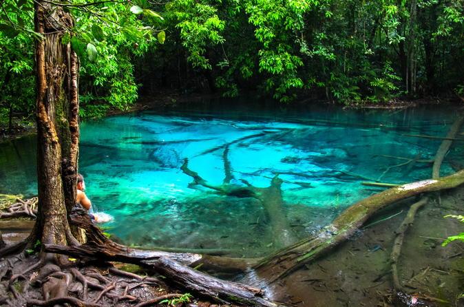Emerald Pool und Warereak Hot Spring Spa