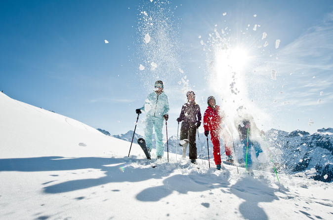 Beginners ski day trip to jungfrau ski region from zurich in zurich 259591
