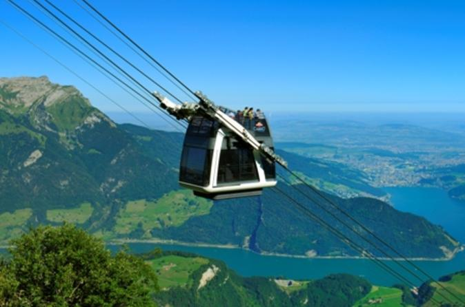 Day trip from zurich to lucerne and stanserhorn including funicular in zurich 123266