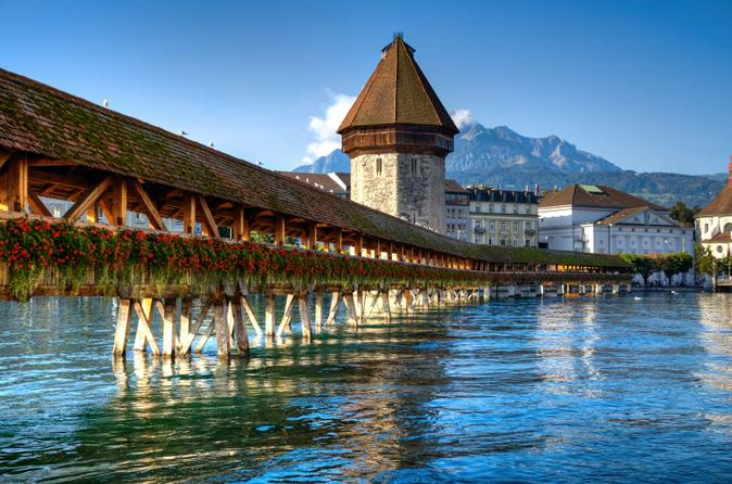 Excursão pela cidade de Lucerna