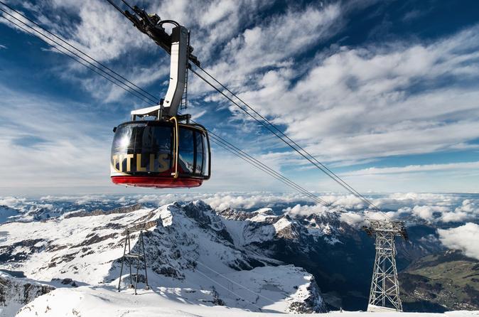 Viagem de meio dia ao Monte Titlis e suas neves eternas, saindo de Lucerna