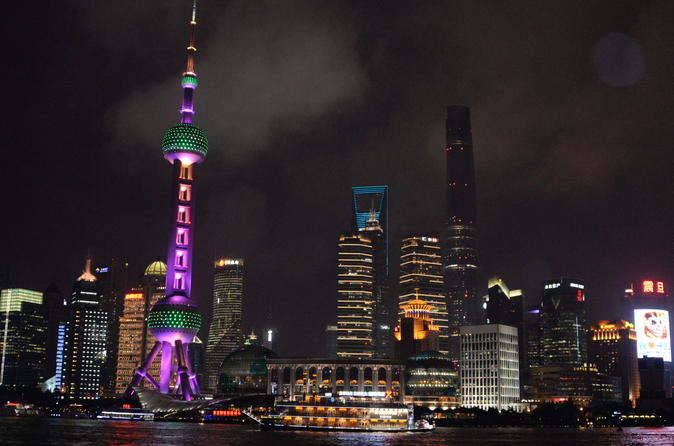 Delightful Shanghai Night Tour with Authentic Local Food Tasting