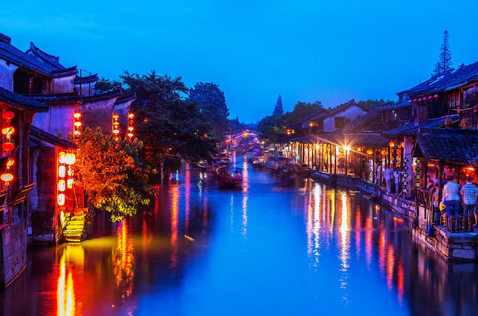 Xitang Water Village Sunset Tour including Riverside Dining Experience from Shanghai