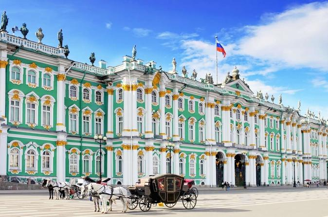 3-Hour City Sightseeing Tour of St Petersburg