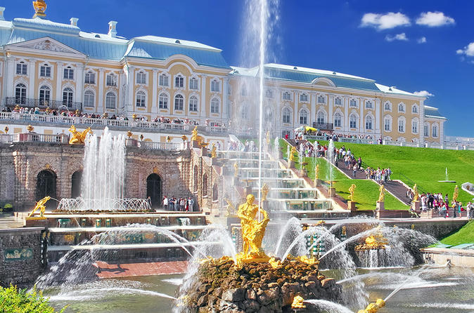 From St Petersburg - Peterhof and Pushkin Full-Day Tour