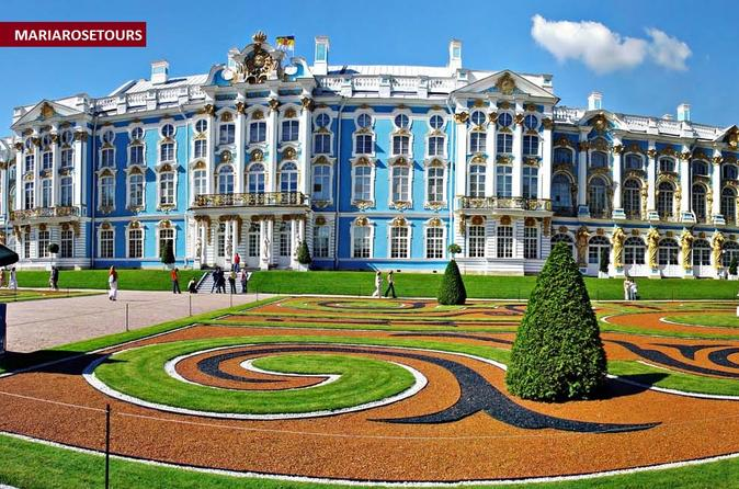 Private Tour to Catherine Palace and Amber Room in Pushkin