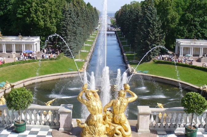 Saint Petersburg Half-Day Tour of Peterhof (Petrodvorets)