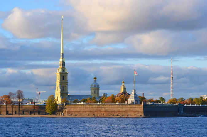 St Petersburg Shore Excursion: City Tour with Peter and Paul Fortress and Gostiny Dvor