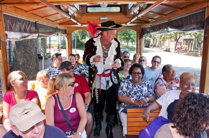 Historic Overview of Savannah Trolley Tour