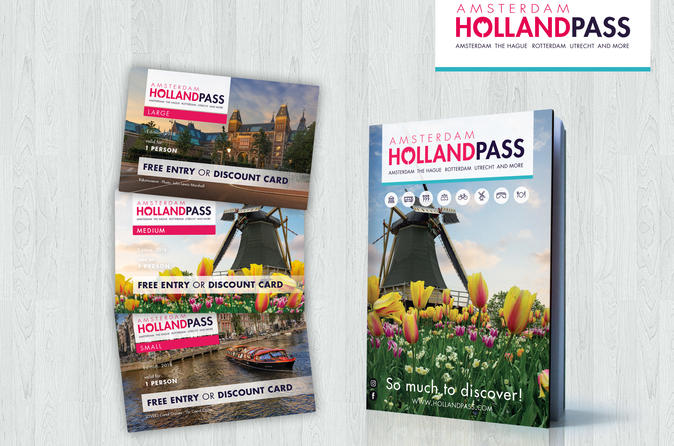 Amsterdam and Holland Sightseeing Pass: Free Entry & Discount Card