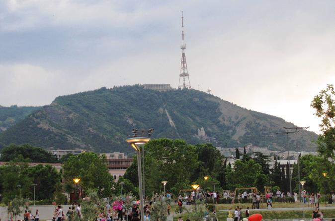Dinner in funicular restaurant complex at mtatsminda park from tbilisi in tbilisi 356270