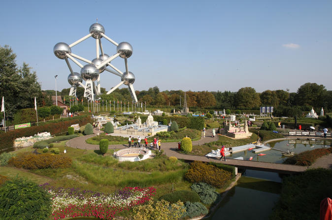Mini europe and atomium combo ticket in brussels 530187