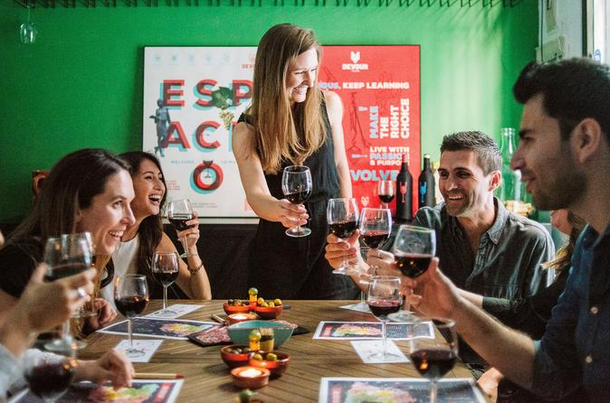 2-Hour Spanish Wine Tasting Experience in Private Tasting Space.