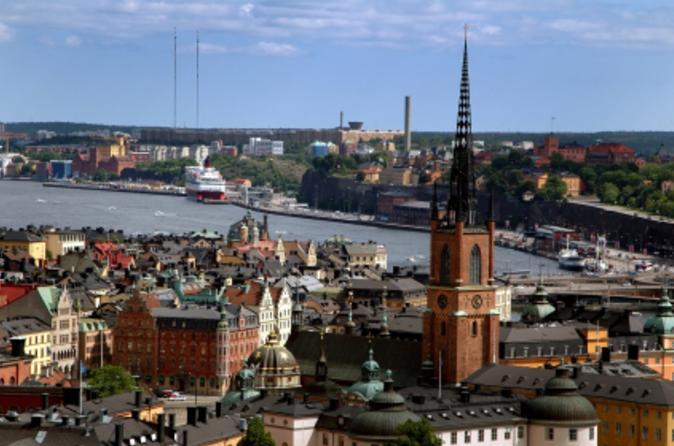 Excursão Terrestre em Estocolmo: Grande Excursão em Estocolmo de Ônibus e Barco