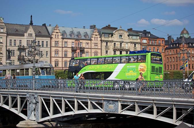 Excursão Terrestre por Estocolmo: Excursão em ônibus panorâmico pela cidade de Estocolmo
