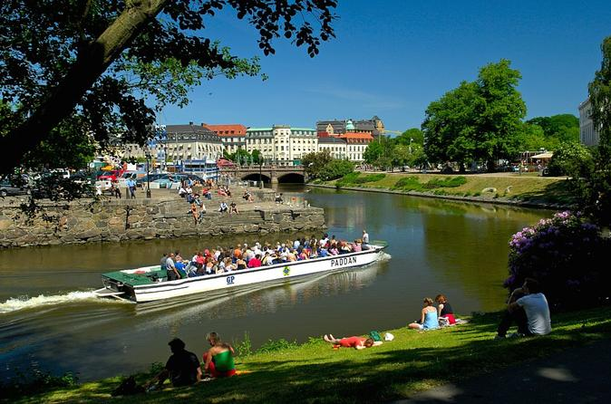 Gothenburg hop on hop off boat tour in gothenburg 152418