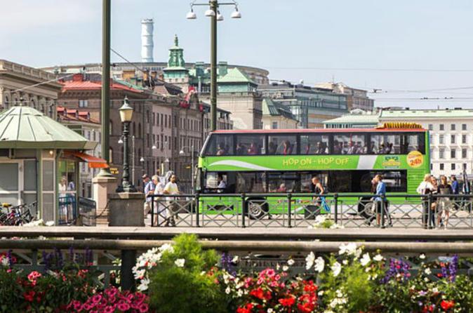 Hop on Hop off bus Gothenburg