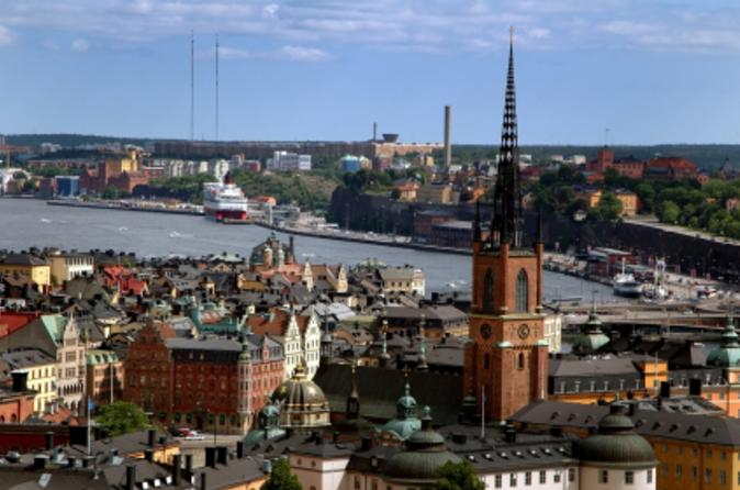 Stockholm Shore Excursion: Stockholm Grand Tour by Coach and Boat