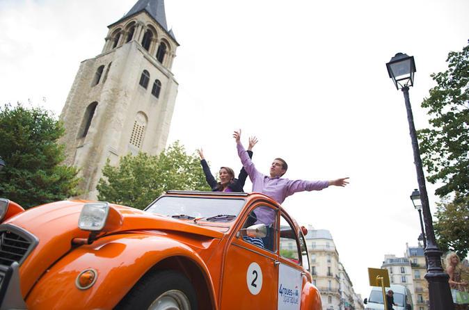 Private Citroen 2CV Tour: Essential Paris