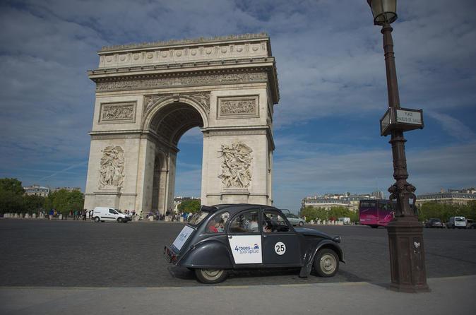 Private Tour: 2CV Champs Elysées Tour in Paris