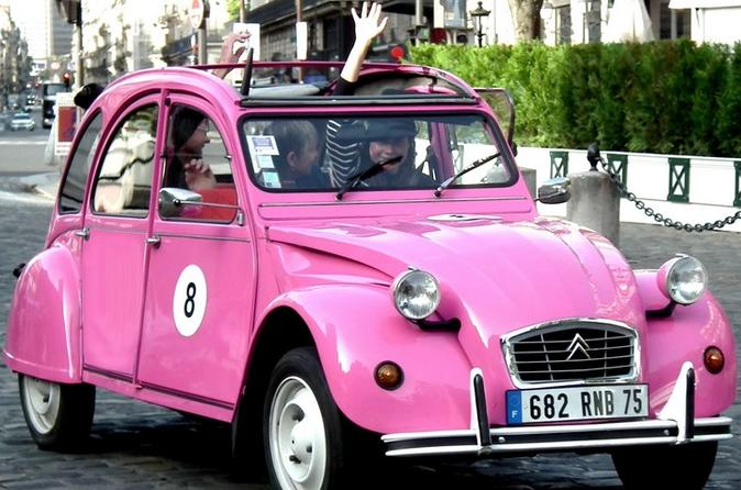 Private Tour: 2CV Paris Fashion Tour Including Galeries Lafayette