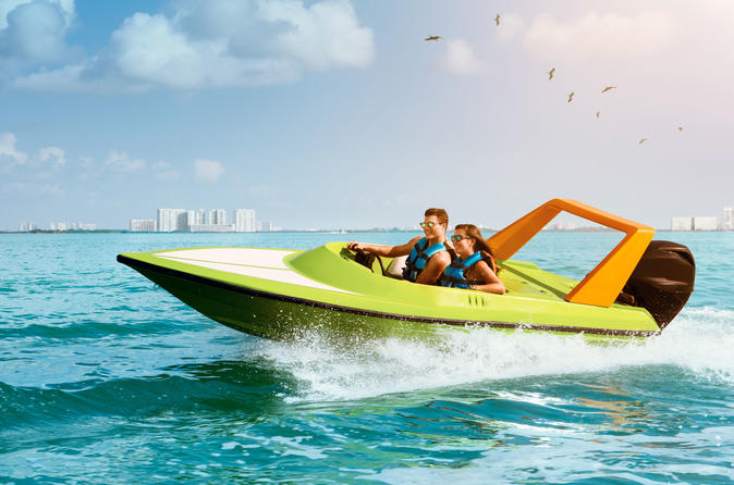 Speed Boat Snorkeling Experience - Cancun
