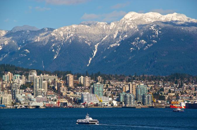 Excursão em Vancouver, incluindo a ponte suspensa Capilano