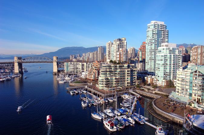 Excursão pela costa de Vancouver: city tour pré-cruzeiro com desembarque no porto