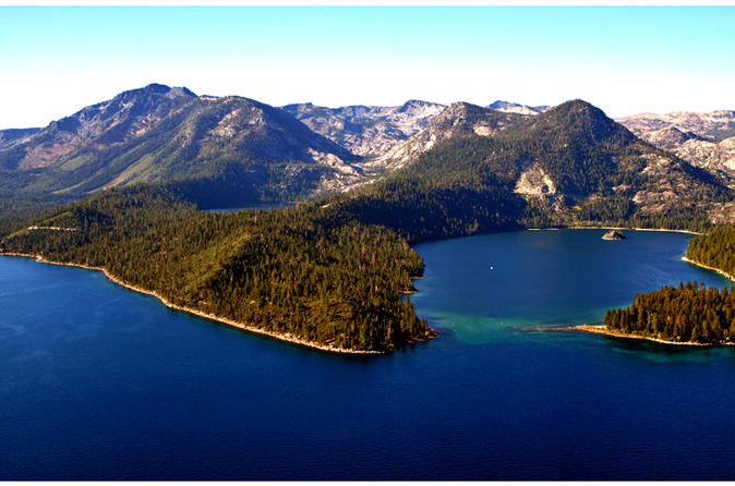 Emerald bay helicopter tour in lake tahoe 155553