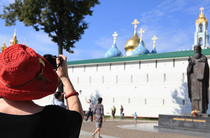 Golden Ring and Trinity Lavra Private Day Trip from Moscow