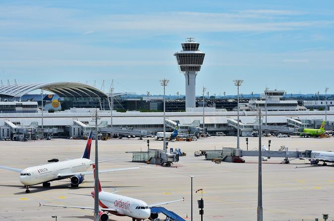 Munich City Center to Friedrichshafen Airport - Premium Transfer
