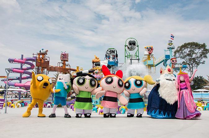 1-Day Pass: Cartoon Network Amazone with Hotel Transfer in Pattaya
