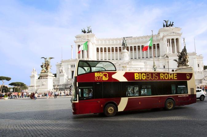Big Bus Rome Hop-on Hop-off Tour