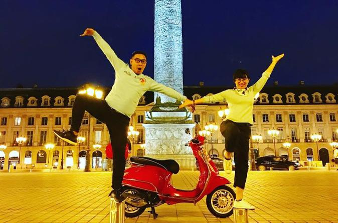 Private Paris by Night Vespa Tour