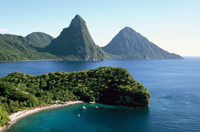 Climbing the Pitons Tour, St. Lucia Tours, Travel & Activities