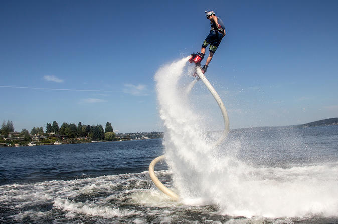 Wickiup reservoir flyboard rental and lesson in la pine 351049