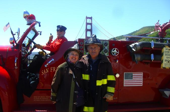 San francisco fire engine tour in san francisco 117242