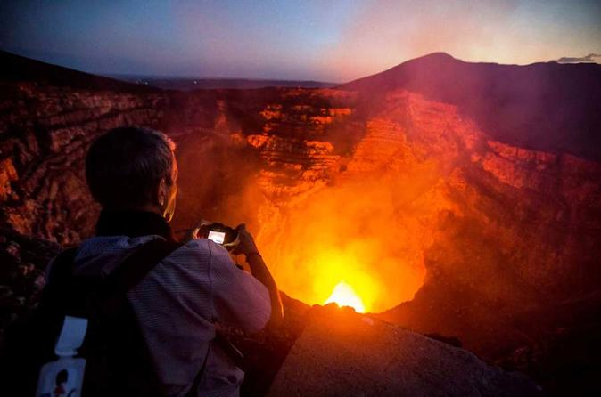 Private Tour to Volcano Masaya by Night