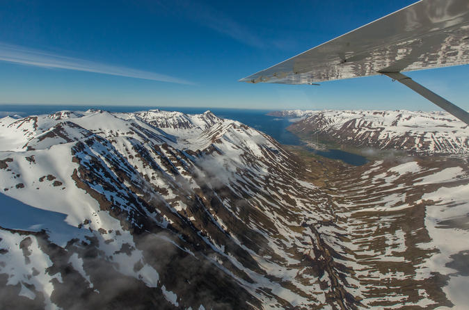 Akureyri airvan flight highlands and glaciers in akureyri 357474