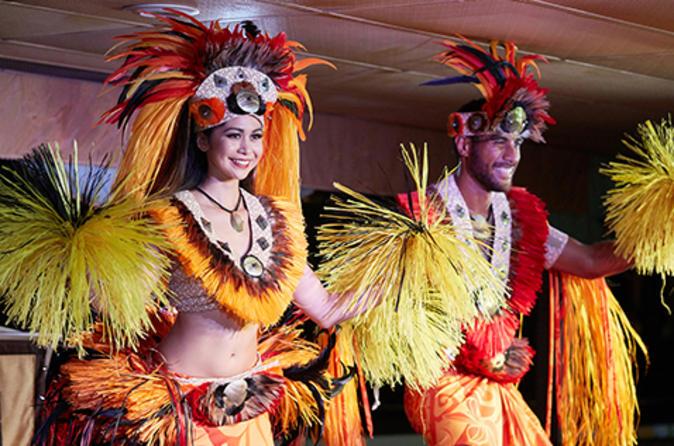 Jantar três estrelas ao pôr do sol e show em cruzeiro em Oahu