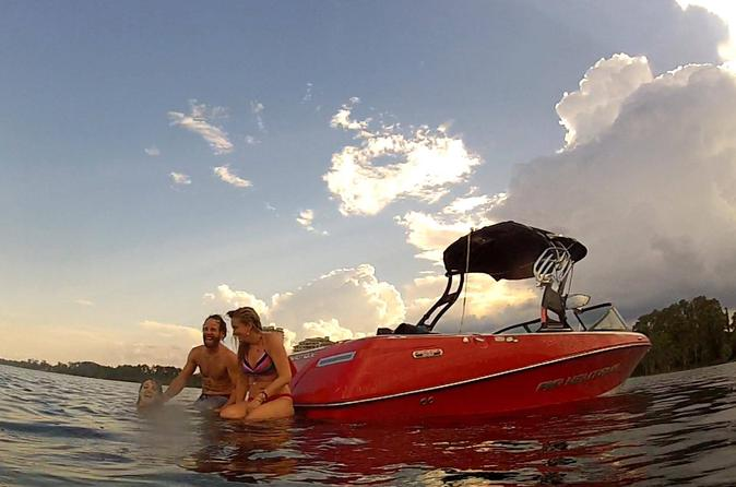 Waterski Wakeboard and Tubing Charter from Lake Buena Vista Area