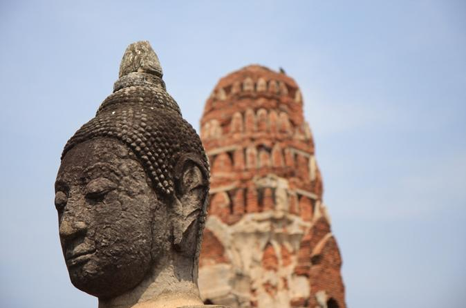 AYUTTHAYA WITH MINIVAN AND COME BACK WITH CRUISE - Bangkok