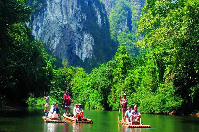 Day Trip Khaosok Discovery  From Phuket ( Canoe Or Bamboo Rafting )