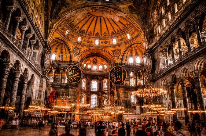 Guided Halfday Tour to Hagia Sophia and Blue Mosque