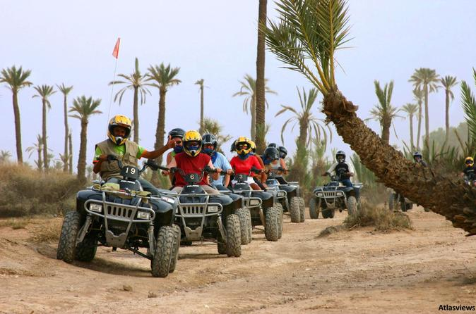 Quad Biking In The Palm Groves Of Marrakech - Marrakesh