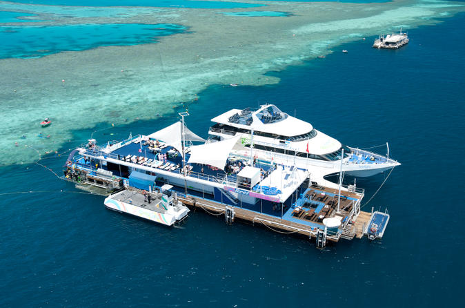 2 day great barrier reef reefsleep experience in shute harbour 142985